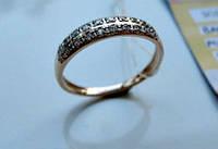 Женское золотое кольцо обручалка. Размеры 17.5, 19.5 мм. от 899грн. за 1 грамм