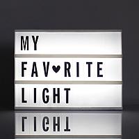 Светодиодный праздничный светильник! Декоративная лампа с подсветкой для афиши, объявлений!