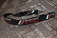 Шнурок на шею для ключей TRD (Toyota Racing Development) чёрный