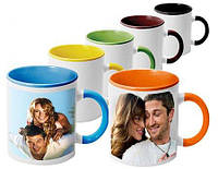 Печать на чашках фотографии надписи картинки поздравления чашка с фото цветные внтри ицветная ручка