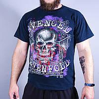 Мужская футболка с принтом черепа Gildan, размер М, арт. 0635-0804