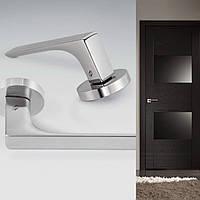 Дверная ручка для входной и межкомнатной двери Colombo, модель  Robocinque ID 61. Италия