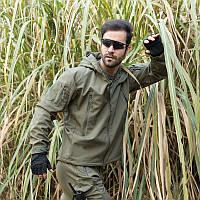 Тактическая куртка ESDY Softshell олива