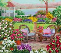 Набор для вышивки лентами Цветущий сад НЛ-3023