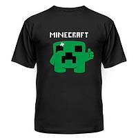 Футболка-майка принт MINECKRAFT, Minecraft, Майнкрафт