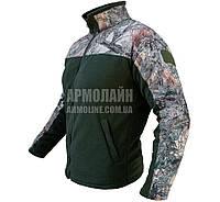 Толстовка флисовая охотничья (СТЕПЬ), фото 1
