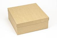 "Коробка ""ГифтБокс"" М0069-о3 крафт, размер: 250*250*100 мм, фото 1"