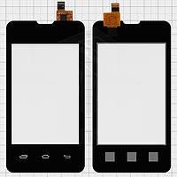 Touchscreen (сенсорный экран) для Prestigio MultiPhone 3350 Duo, оригинальный (черный)