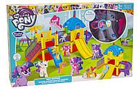Игра для детей Горки модель MY LITTLE PONY,в наборе одна фигурка пони, гребень для ухода за лошадкой.