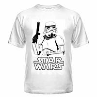 Мужская футболка  (Stormtrooper) штурмовик STAR WARS