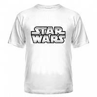 Футболки мужские летние с logo Star wars (стар вар)