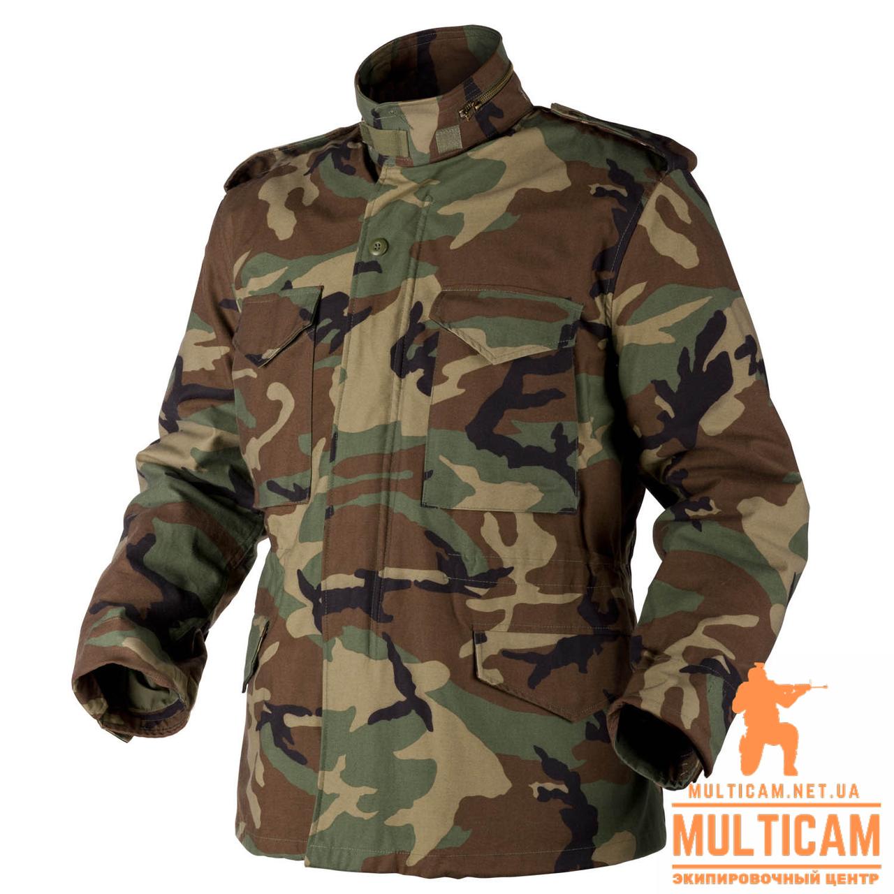 Куртка парка Helikon-Tex® M65 - US Woodland