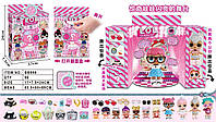 Кукла модель Лол LoL Сюрприз для девочек,цвет озовый, в коробке с аксессуарами.