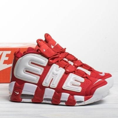 Мужские кроссовки в стиле Nike Air More Uptempo Supreme, фото 2