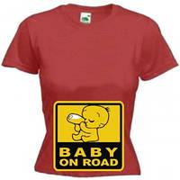 Футболка BABY ON ROAD, фото 1