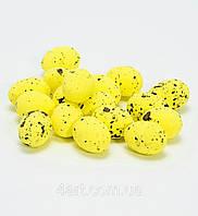 Яйца пасхальные 3 см уп. 36 шт Желтые