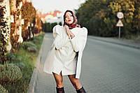 Пальто женское белое модное