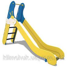 Гірка середня, висота спуску 1.2м від земі, для дитячих ігрових майданчиків KidSport