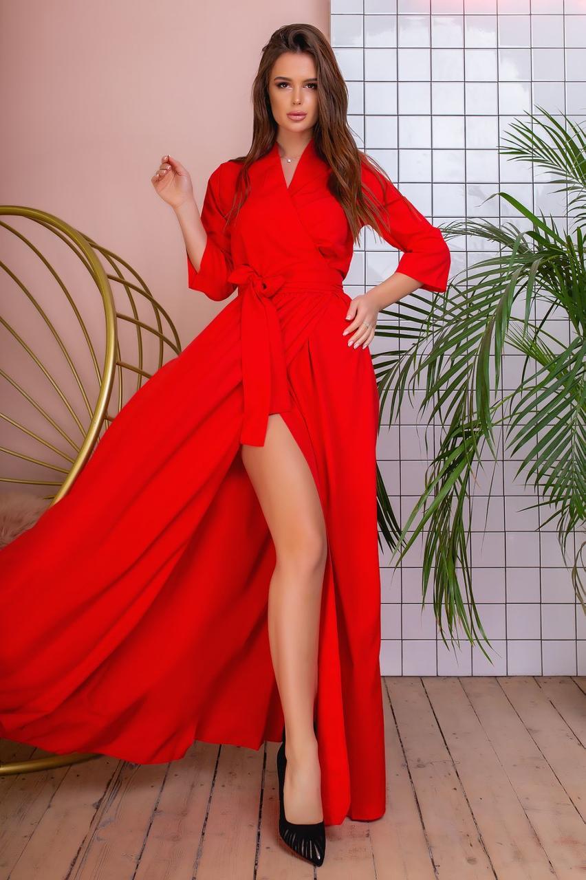 Длинное платье 3619