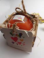 Свадебные бонбоньерки или подарочный набор крем-мед 100мл для подарка на свадьбу гостям