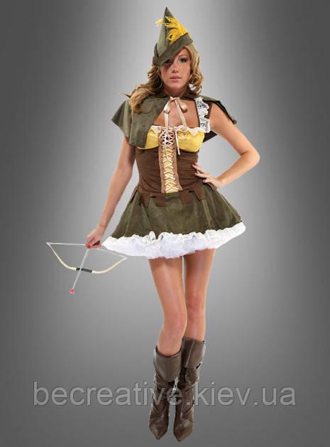 Жіночий карнавальний костюм Робін Гуда