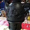 Чайник глиняний з ситком та підігрівом ручної роботи 1л