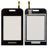 Touchscreen (сенсорный экран) для Samsung E2652/E2652W, оригинальный (черный)