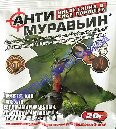Антимуравьин 20 г, оригинал, фото 2