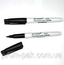 Маркер перманентный TZ423,черный,, фото 2