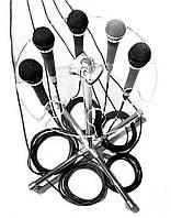 Мульти микрофонный держатель (на 8 микрофонов)