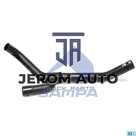 Патрубок радіатора 26,8mmx30mmx30,5mm DAF XF 105, XF 96 \1399817 \ 050.257