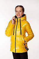 Детская демисезонная куртка для девочек Inga Желтый (146-164 см) на весна-осень