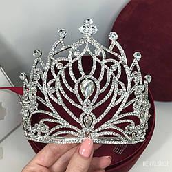 """Висока корона """"Lotos"""" для нареченої або на конкурс краси."""
