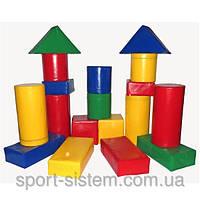 Детские игровые мягкие конструкторы Строитель 4