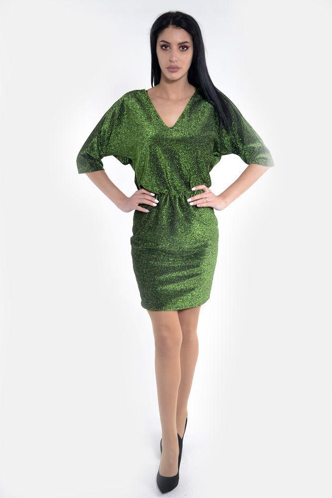 Платье женское цвет Зеленый размер 38