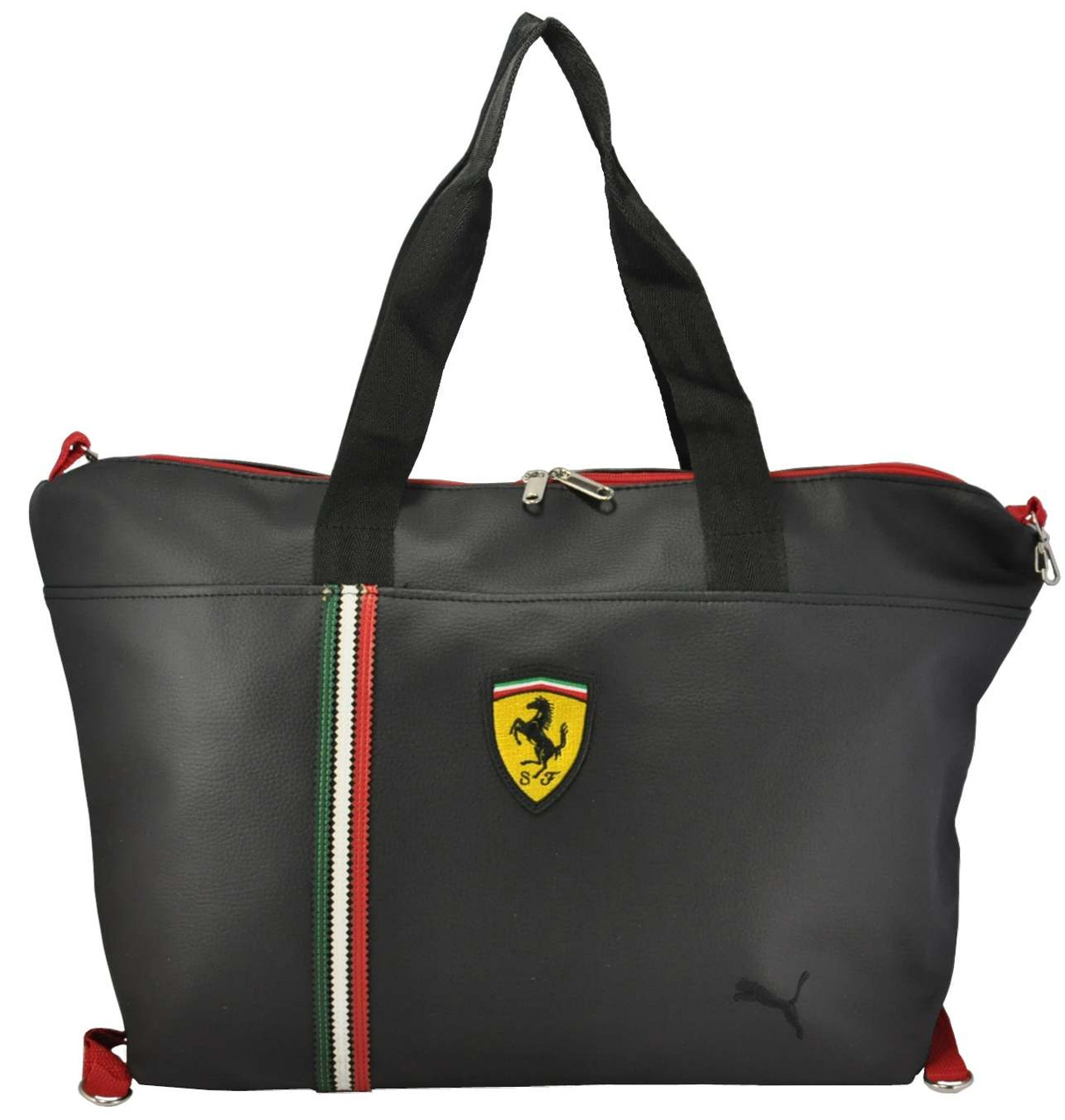 0c400876 Спортивная сумка Puma Ferrari черная реплика - Интернет магазин