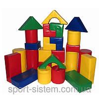 Детский конструктор Строитель 3 из модулей (Игровые мягкие модули для детей)