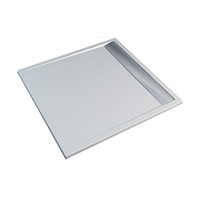 Поддон San Swiss Ila WIQ0900404 90х90 см квадратный, крышка сифона белая