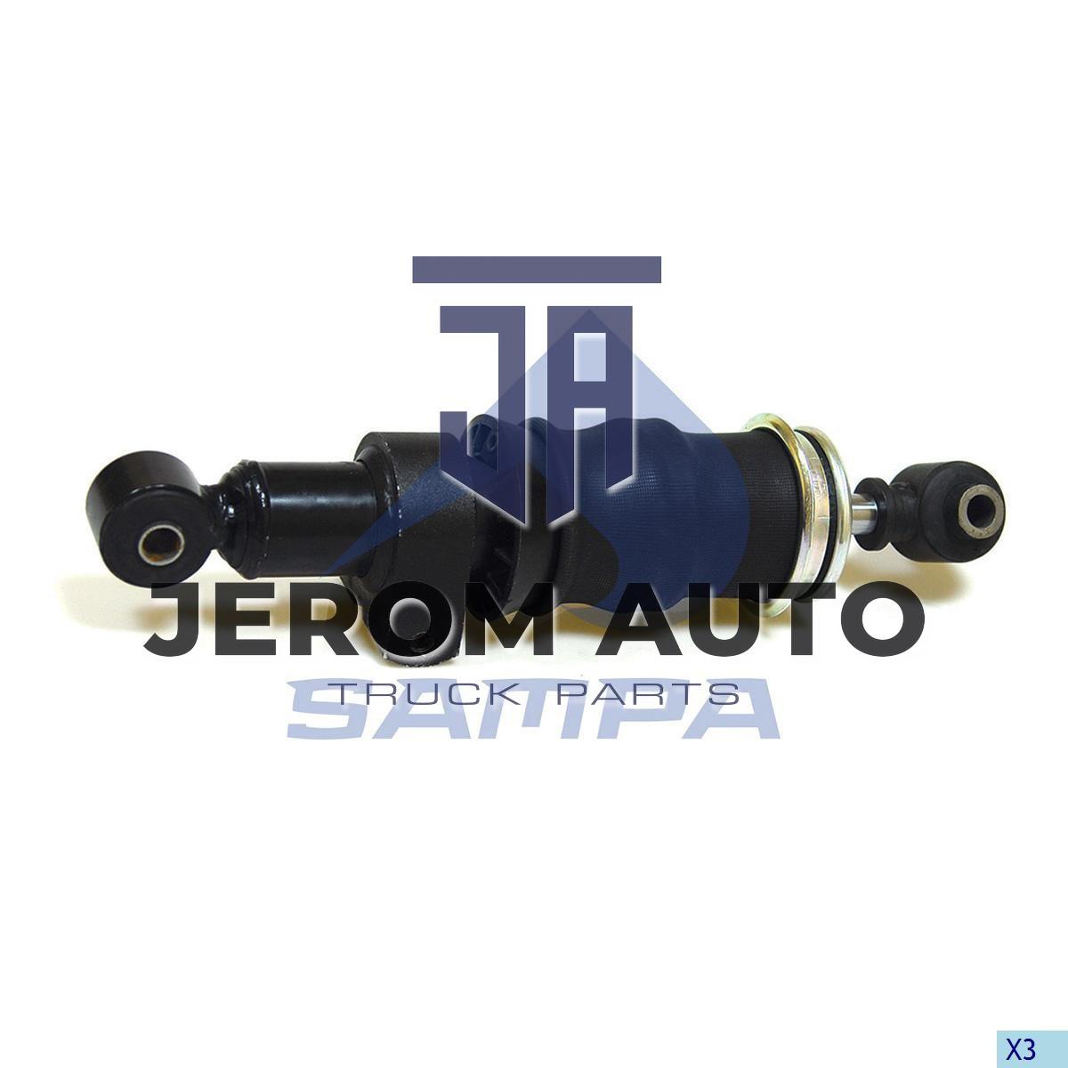 Амортизатор кабины c пневморесс. IVECO Eurotrakker (L324-415) задний (d16,1/d16,1) \41028764 \ 060.162