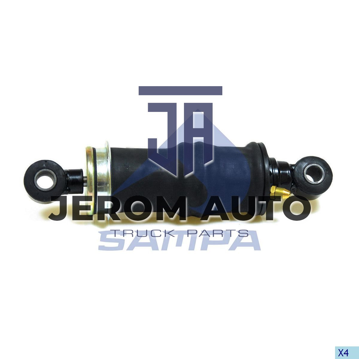 Амортизатор кабины с пневморесс. IVECO Stralis (L296-330) задний \500357352 \ 060.169