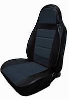 Чехлы на сиденья ГАЗ Волга 24 (универсальные, кожзам, пилот)