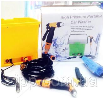 Портативна автомобільна мийка-душ High Pressure Portable Car Washer
