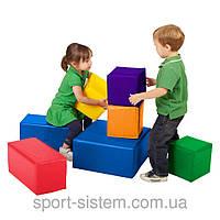 Модульный конструктор мягкий Строитель 5 (Игровые мягкие модули для детей)
