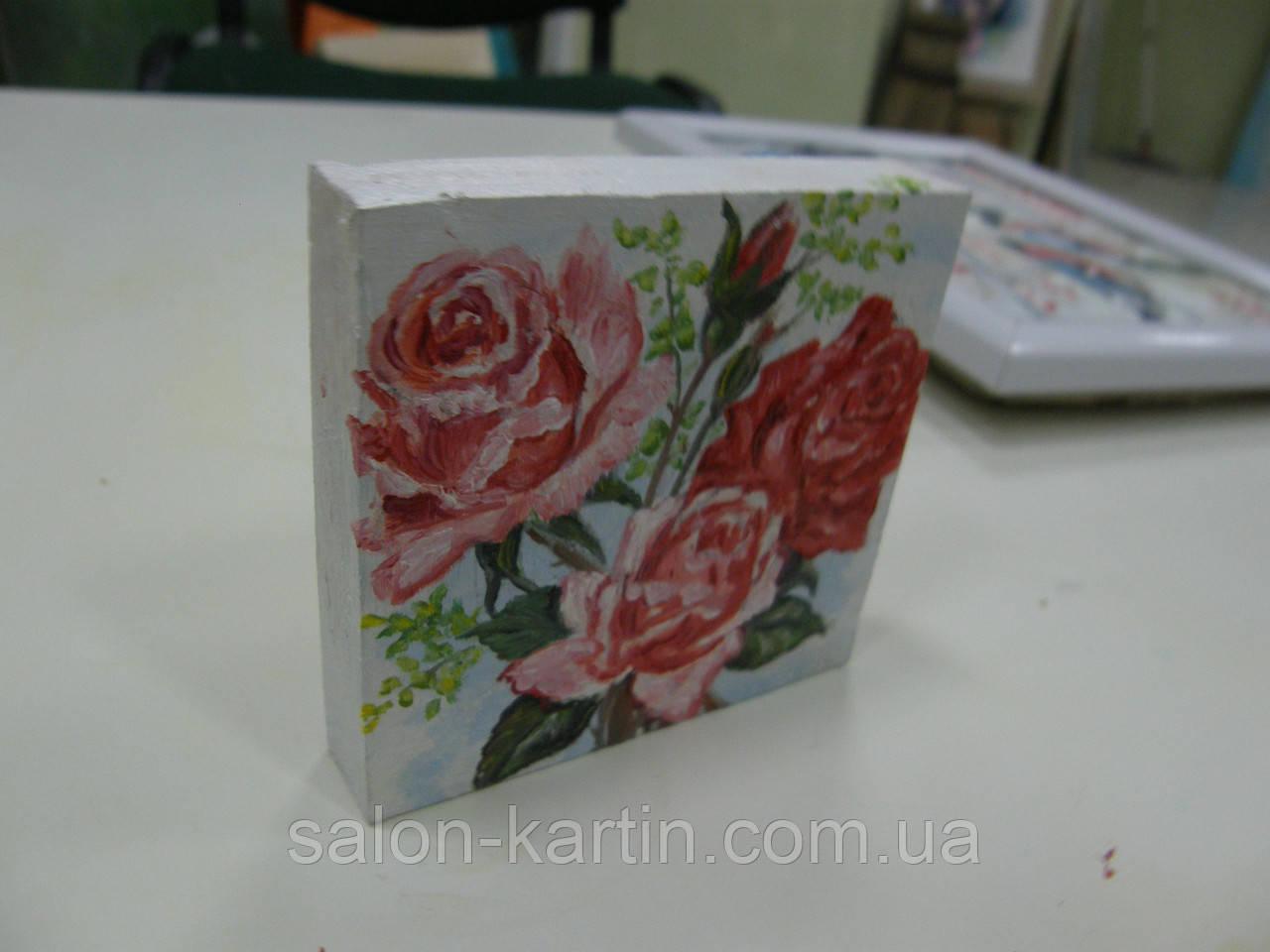 "Картина-миниатюра ""Розы"""
