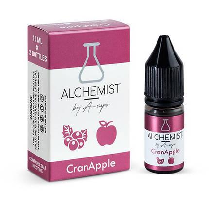 Alchemist Salt Cran Apple 50mg 10ml - сольова рідина для pod систем., фото 2