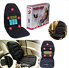 Массажная накидка в машину Massage Seat Topper, фото 3