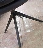 Стілець поворотний R-85 графіт Vetro Mebel, фото 9