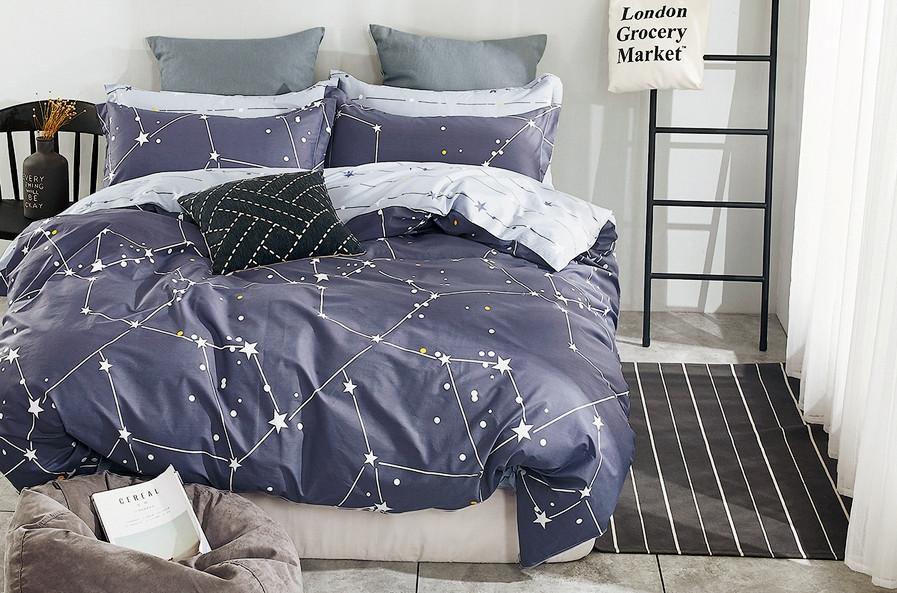 Постельное белье 2-спальное евро LA SCALA Y230-849