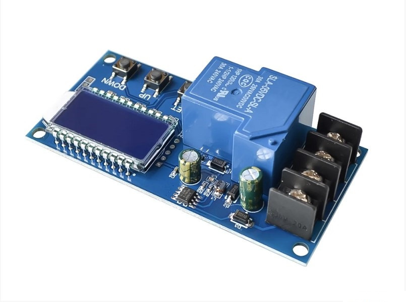 XY-L30A: модуль контроля зарядки аккумуляторных батарей 6-60В 30А