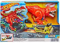 Трек Hot Wheels Голодный динозавр Ти-рекс